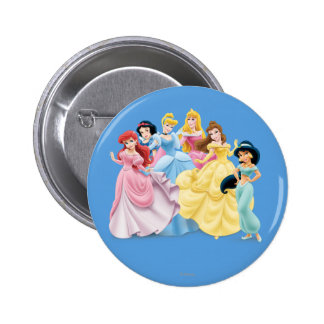 Disney Princesses 7 Button