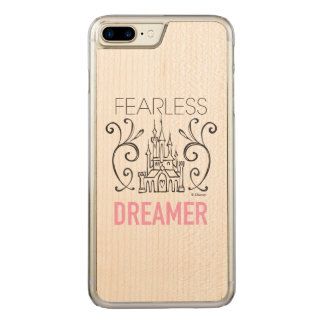 Disney Princesses   Fearless Dreamer Carved iPhone 8 Plus/7 Plus Case