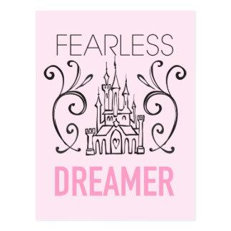 Disney Princesses   Fearless Dreamer Postcard
