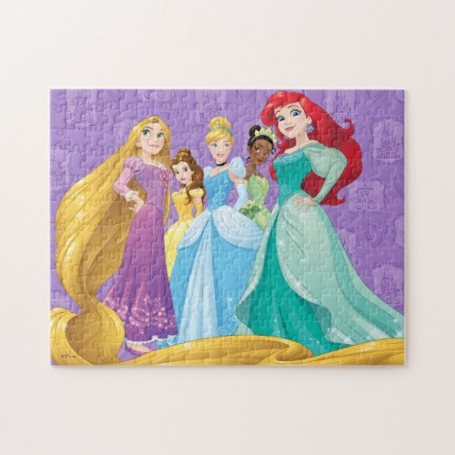 Disney Princesses  Fearless Is Fierce Jigsaw Puzzle
