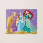 "Disney Princesses | Fearless Is Fierce Jigsaw Puzzle<br><div class=""desc"">Disney Princesses are empowered heroines who dream,  create and celebrate magical adventures! They help inspire young girls to see how brave,  strong and fearless they are. These princesses focus on their friendships and embracing adventure.</div>"