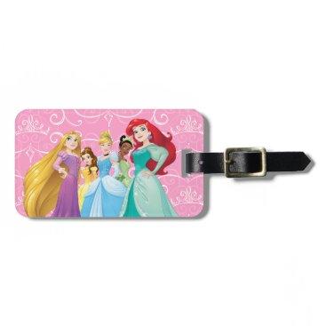 disney Disney Princesses   Fearless Is Fierce Luggage Tag
