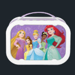 """Disney Princesses   Fearless Is Fierce Lunch Box<br><div class=""""desc"""">Disney Princesses are empowered heroines who dream,  create and celebrate magical adventures! They help inspire young girls to see how brave,  strong and fearless they are. These princesses focus on their friendships and embracing adventure.</div>"""