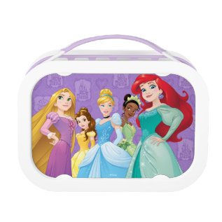 Disney Princesses | Fearless Is Fierce Lunch Box at Zazzle