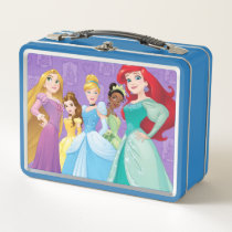Disney Princesses | Fearless Is Fierce Metal Lunch Box