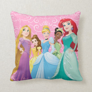 Disney Princesses | Fearless Is Fierce Pillow