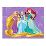 Disney Princesses   Fearless Is Fierce Postcard