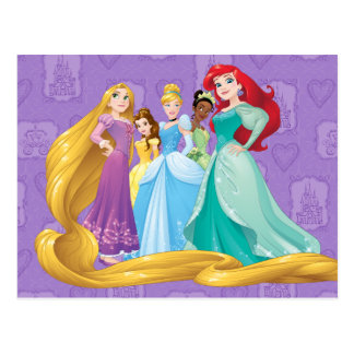 Disney Princesses | Fearless Is Fierce Postcard