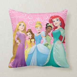 Disney Princesses | Fearless Is Fierce Throw Pillow