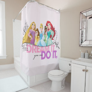 Disney Princess Rapunzel Shower Curtains