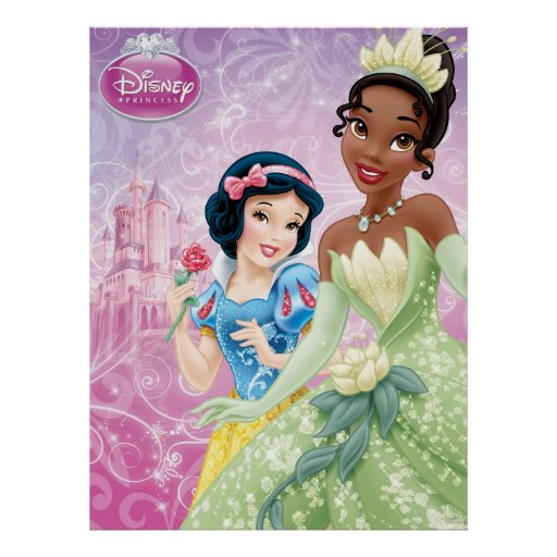 Disney Princesses: Snow White and Tiana Posters