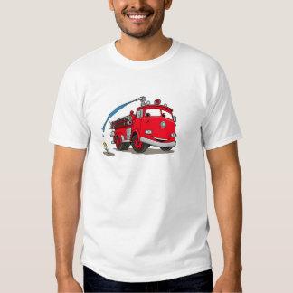 Disney rojo de los coches playera