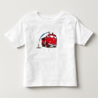 Disney rojo de los coches playera de bebé