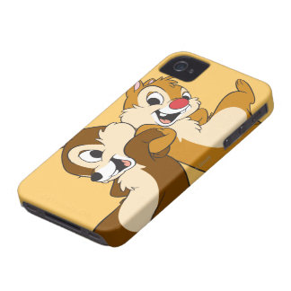 Disney salta y Dale Case-Mate iPhone 4 Protectores