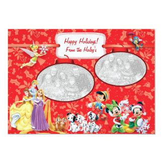 """Disney: Tarjeta del día de fiesta Invitación 5"""" X 7"""""""