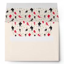 Disney | The Incredibles | Christmas Pattern Envelope