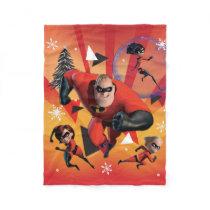 Disney | The Incredibles | Holiday Heroes Fleece Blanket