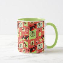 Disney | The Incredibles | Retro Holiday Pattern Mug