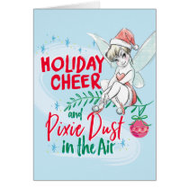 Disney | Tinker Bell | Holiday Cheer Quote Card