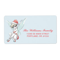 Disney   Tinker Bell   Holiday Cheer Quote Label