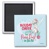 Disney | Tinker Bell | Holiday Cheer Quote Magnet