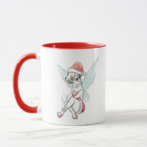 Disney | Tinker Bell | Holiday Cheer Quote Mug
