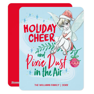 Disney | Tinker Bell | Holiday Cheer Quote - Photo Card