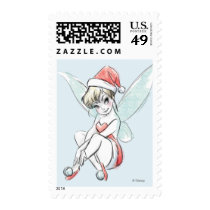 Disney | Tinker Bell | Holiday Cheer Quote Postage