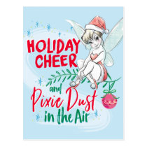 Disney | Tinker Bell | Holiday Cheer Quote Postcard