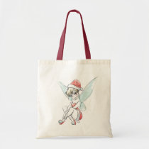 Disney | Tinker Bell | Holiday Cheer Quote Tote Bag