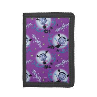 Disney   Vampirina - Vee - Gothic Pattern Tri-fold Wallet