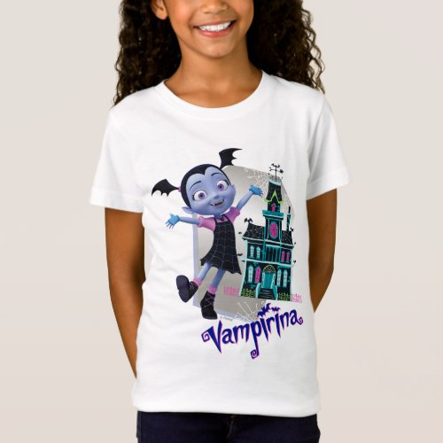 Disney  Vampirina _ Vee _ Haunted House T_Shirt
