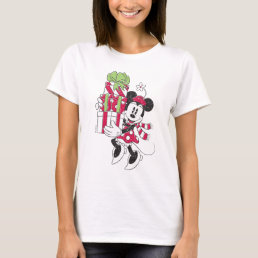 Disney | Vintage Minnie Delivering Holiday Cheer T-Shirt