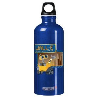 Disney WALL-E Graphic Aluminum Water Bottle