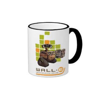 Disney WALL-E que da el metal Taza De Dos Colores