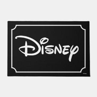 Disney White Logo Doormat