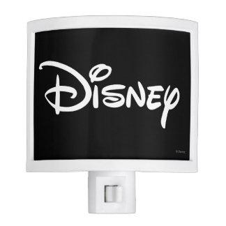 Disney White Logo Night Light