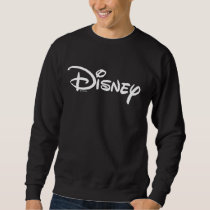 Disney White Logo Sweatshirt