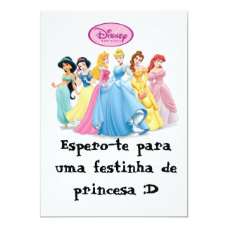 disneyprincess, I wait you for a small party of… Card