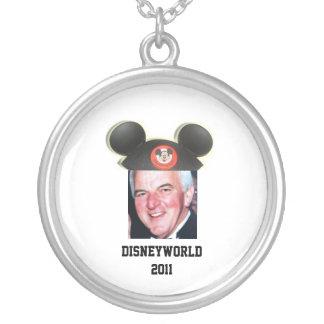 """Disneyworld 2011 - Equipo """"Z """" Collar Plateado"""