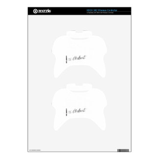 Disobedience - Henry David Thoreau Quote Xbox 360 Controller Skin