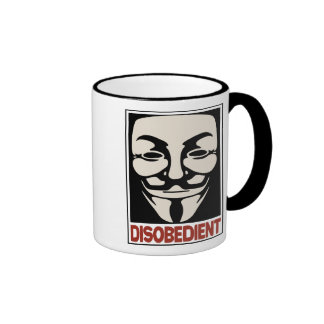Disobedient Ringer Mug