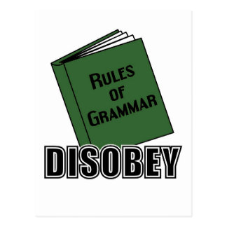 Disobey Postcard