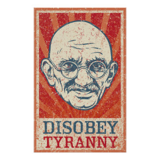 Disobey Tyranny Poster