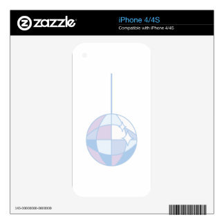 Disoc Ball iPhone 4S Skins