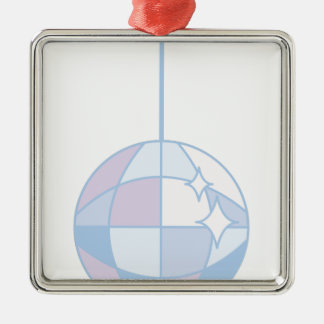 Disoc Ball Metal Ornament
