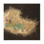Disolución del imperio del ANUNCIO de Carlomagno 9 Impresión En Madera