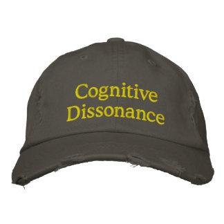 Disonancia cognoscitiva gorra de béisbol bordada