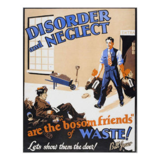 Disorder And Neglect Print