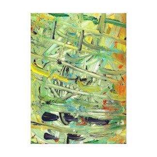 Disorder by rafi talby canvas print